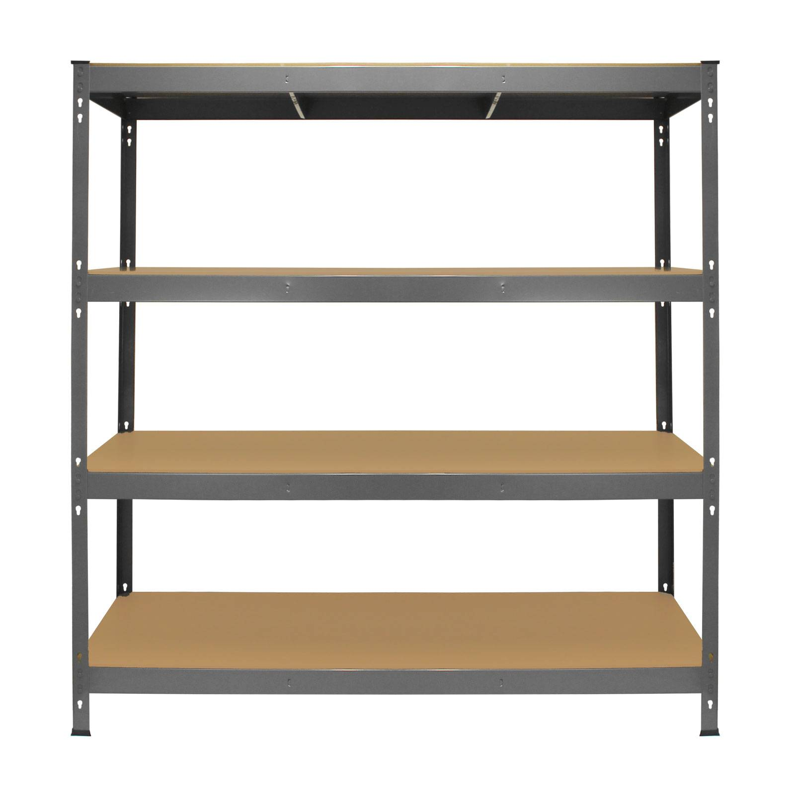 Garage Racking Heavy Duty Shelving 4 Tier Unit Boltless