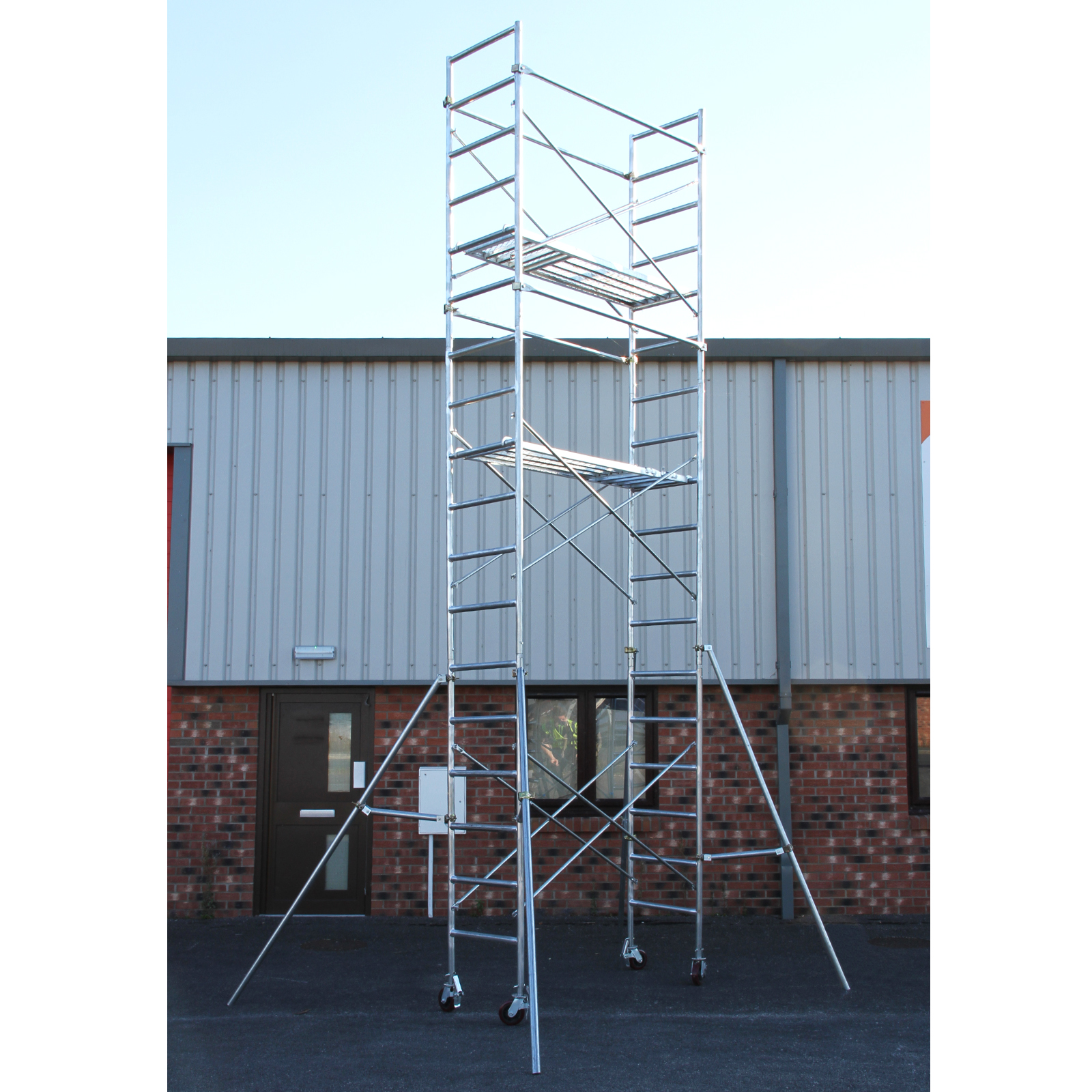 Heavy Duty Scaffolding : Scaffold tower m mobile scaffolding heavy duty diy