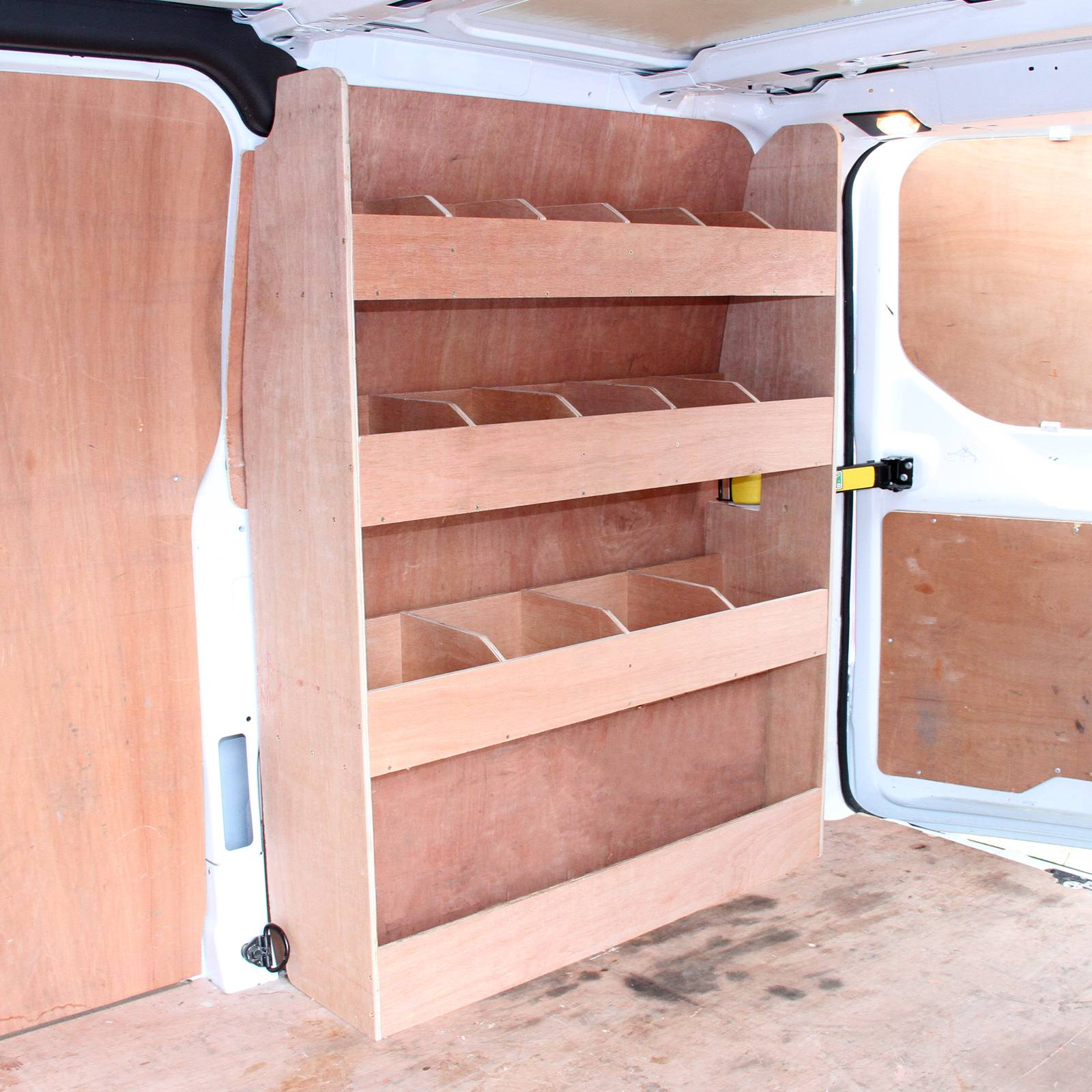 Ford Transit Custom Swb Van Racking Plywood Tool Storage
