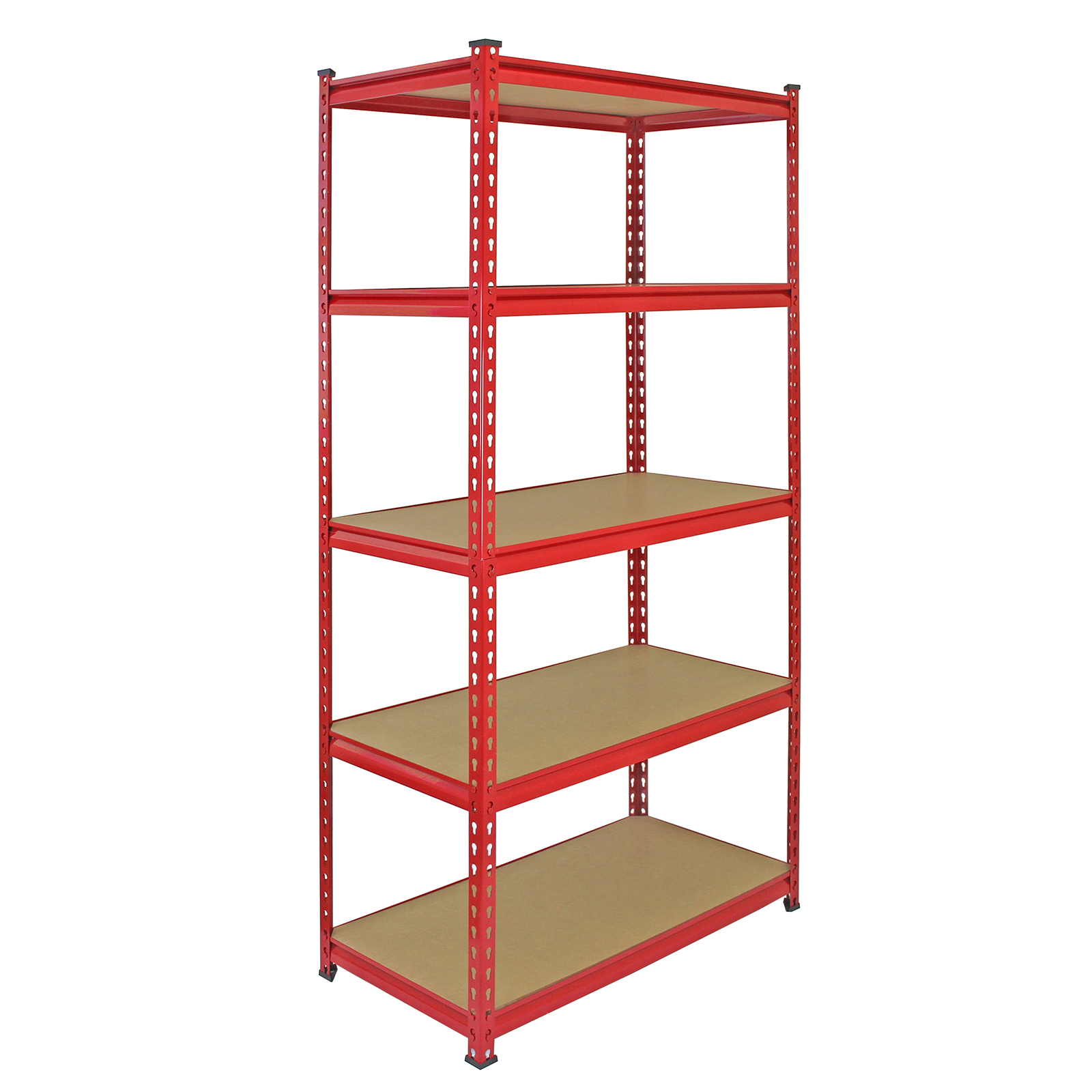 4 heavy duty shelving racking garage 5 tier storage units. Black Bedroom Furniture Sets. Home Design Ideas