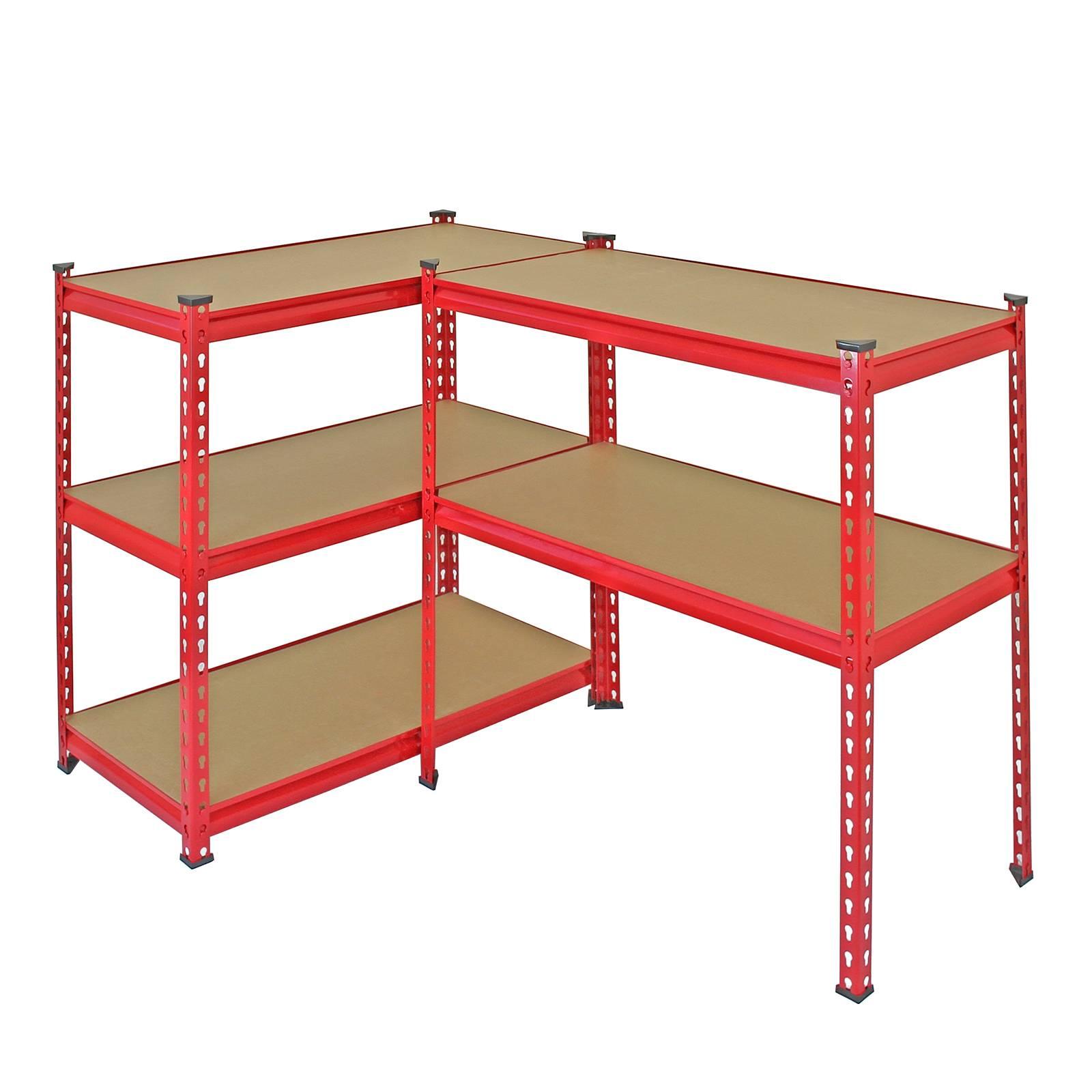 Heavy Duty Garage Shelf : Garage shelving racking cm storage units heavy duty