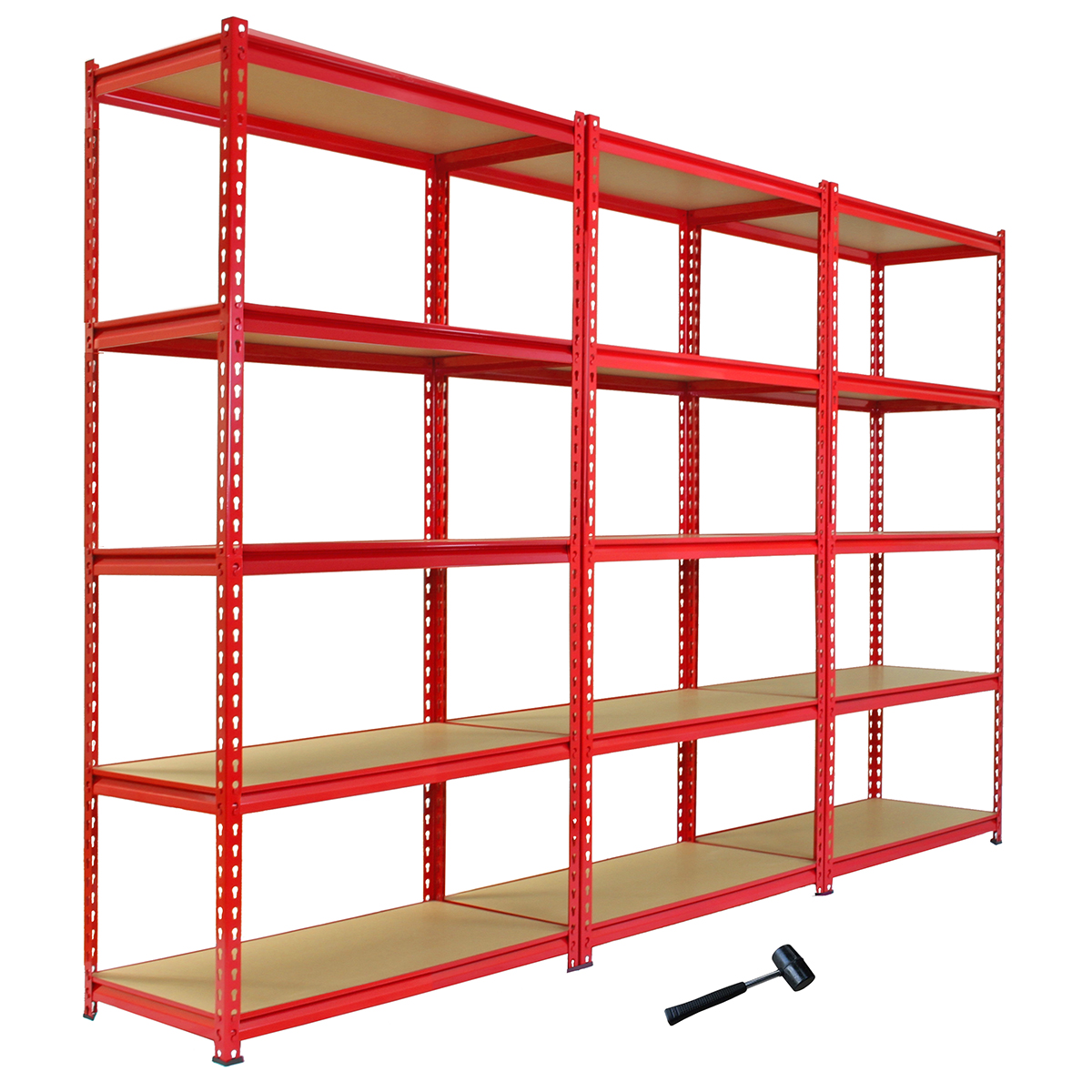 Heavy Duty Garage Storage Racks : Garage shelving racking cm storage units heavy duty