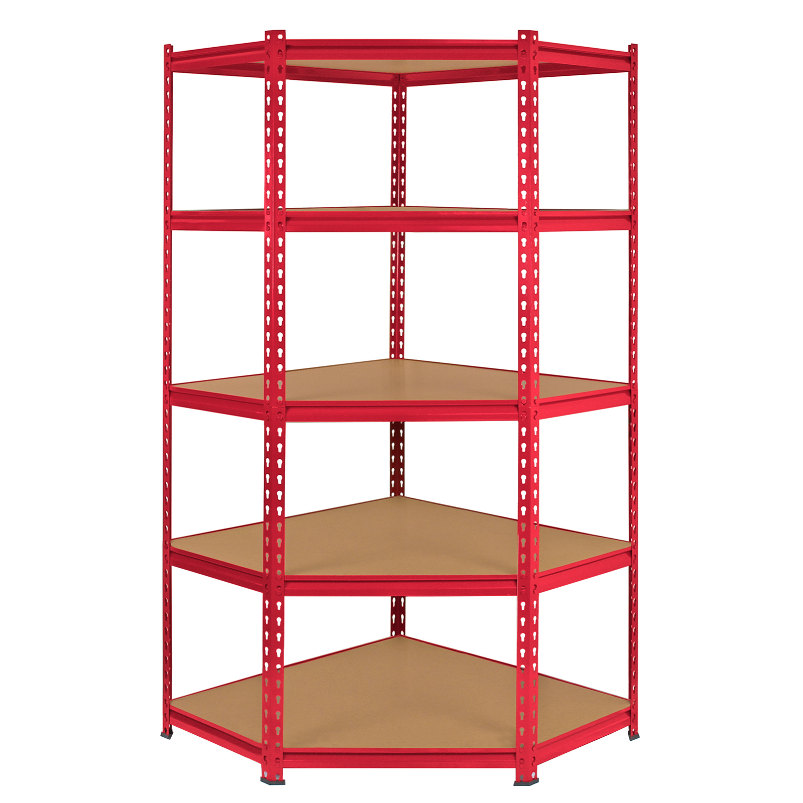 steel storage shelves corner racking garage shelving 90cm storage units heavy 26782