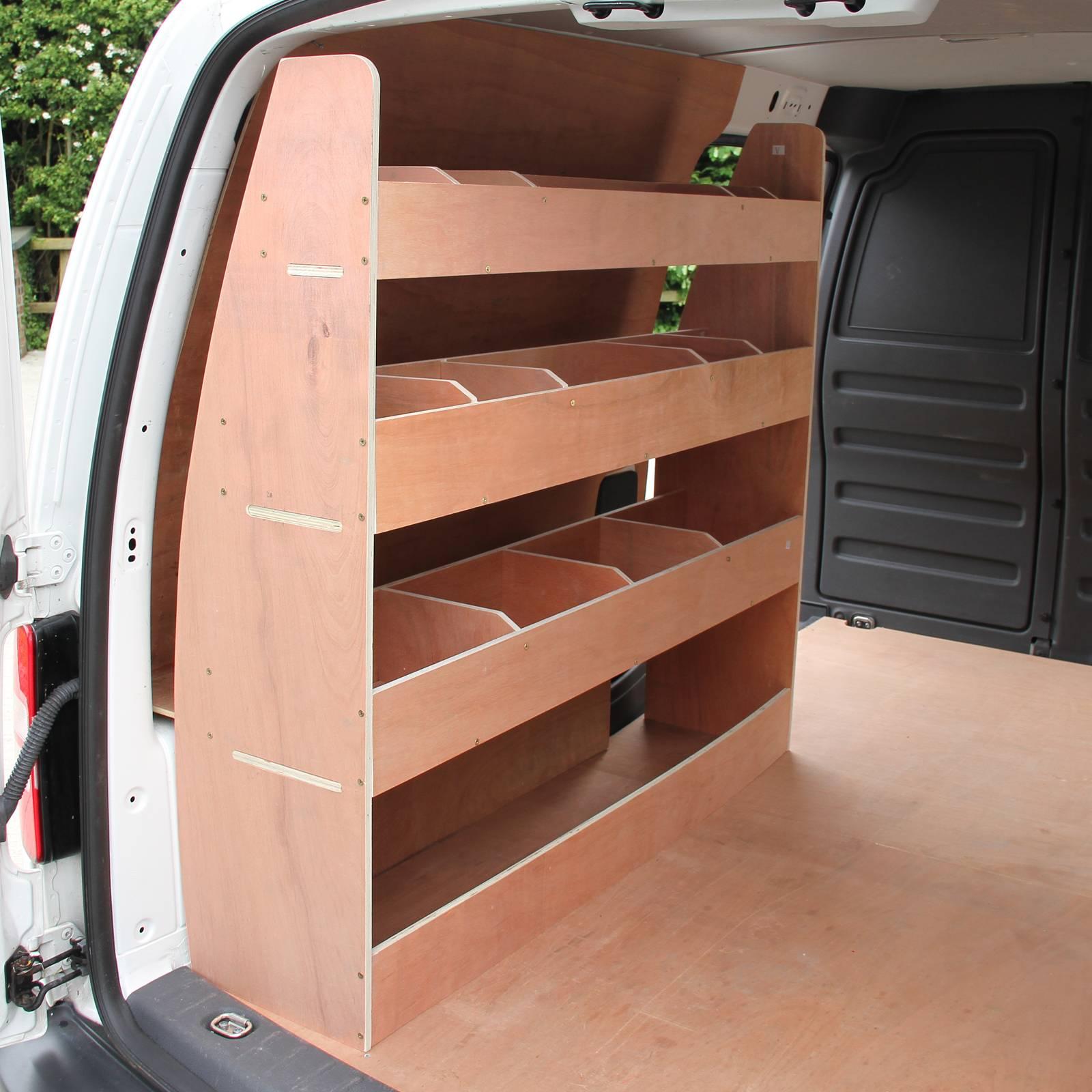 Vw Caddy Swb Van Racking Plywood Tool Storage Van Shelves