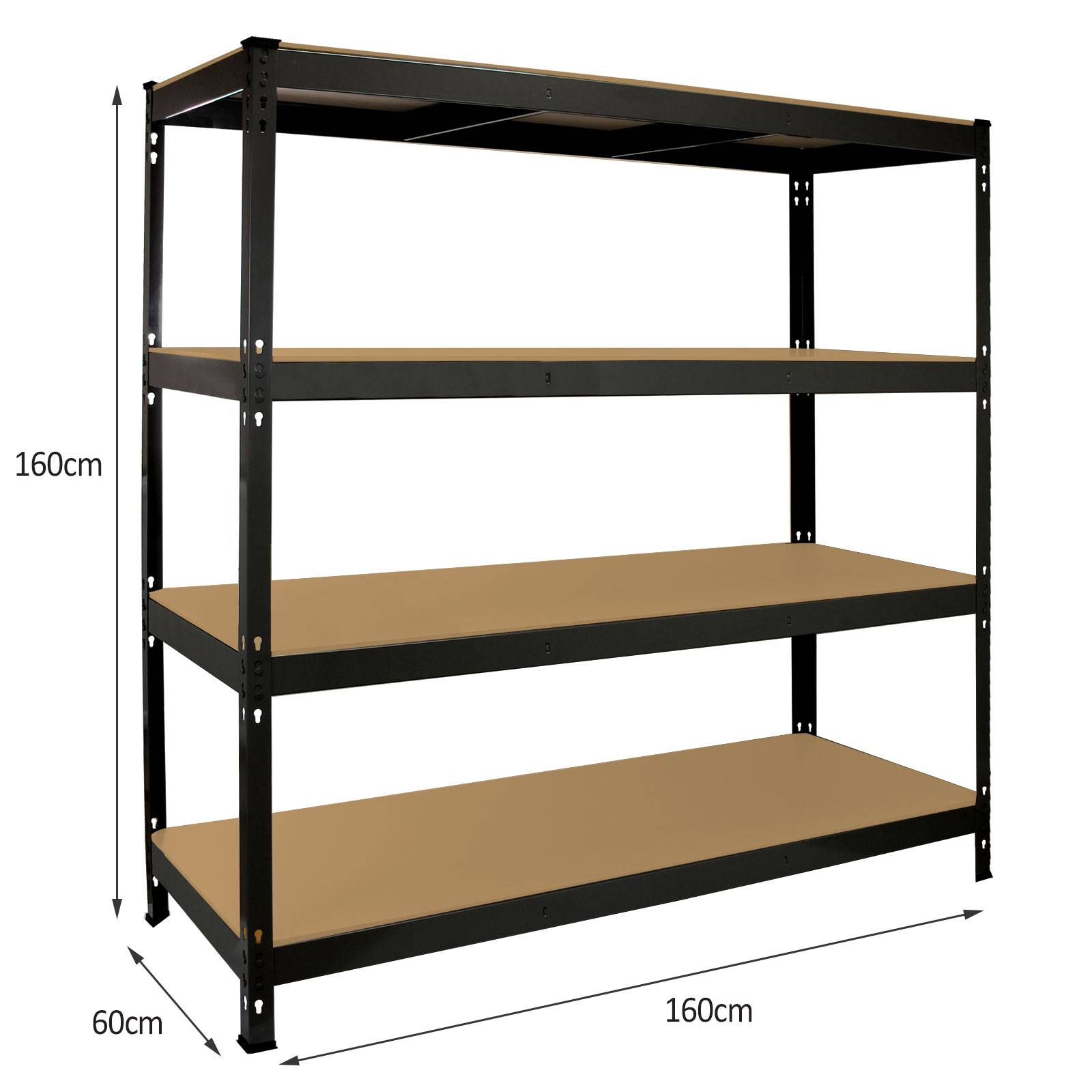 shelving units for storage garage shelving heavy duty racking 4 tier unit boltless 26053