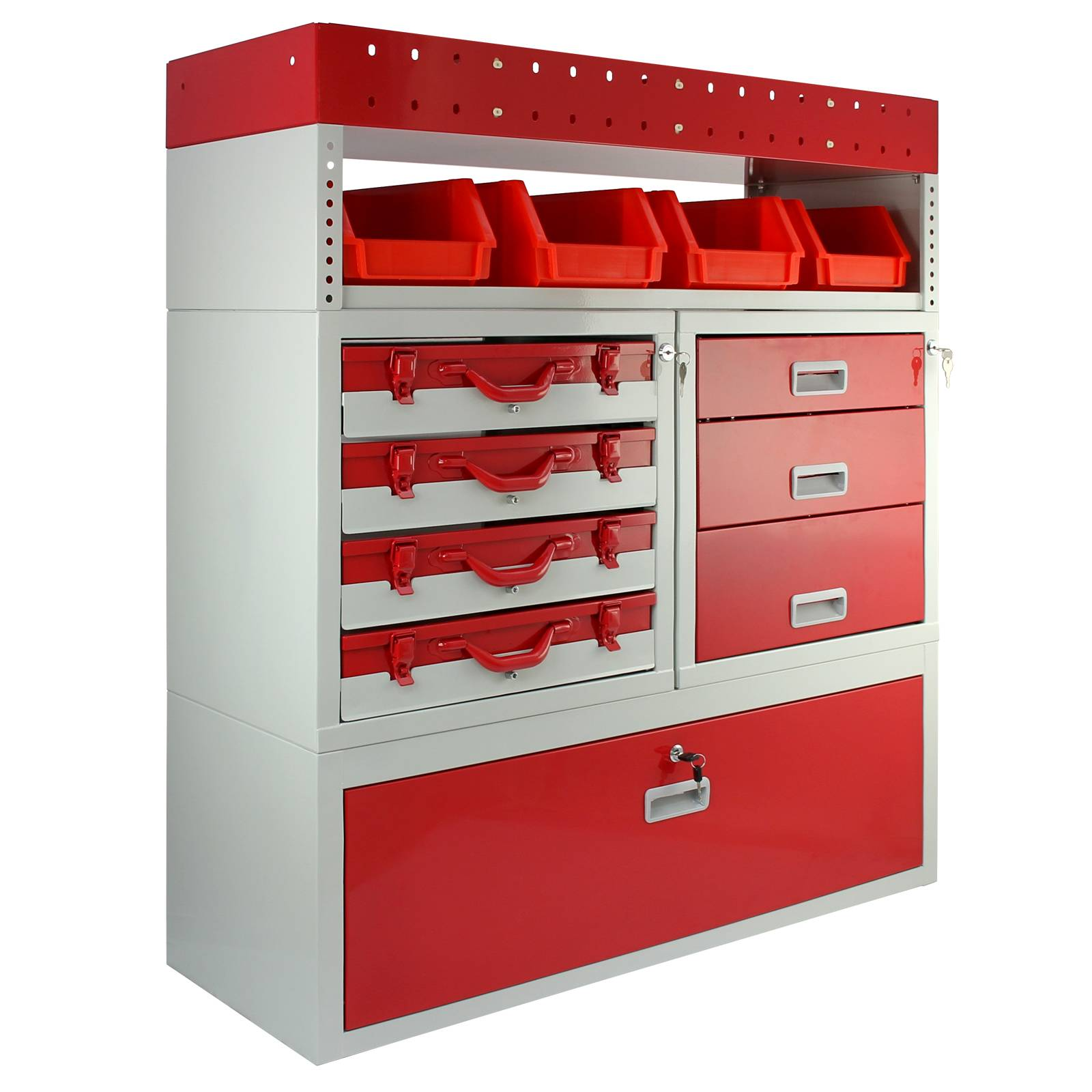 Van Racking Metal Shelving System Steel Rack Tool Storage