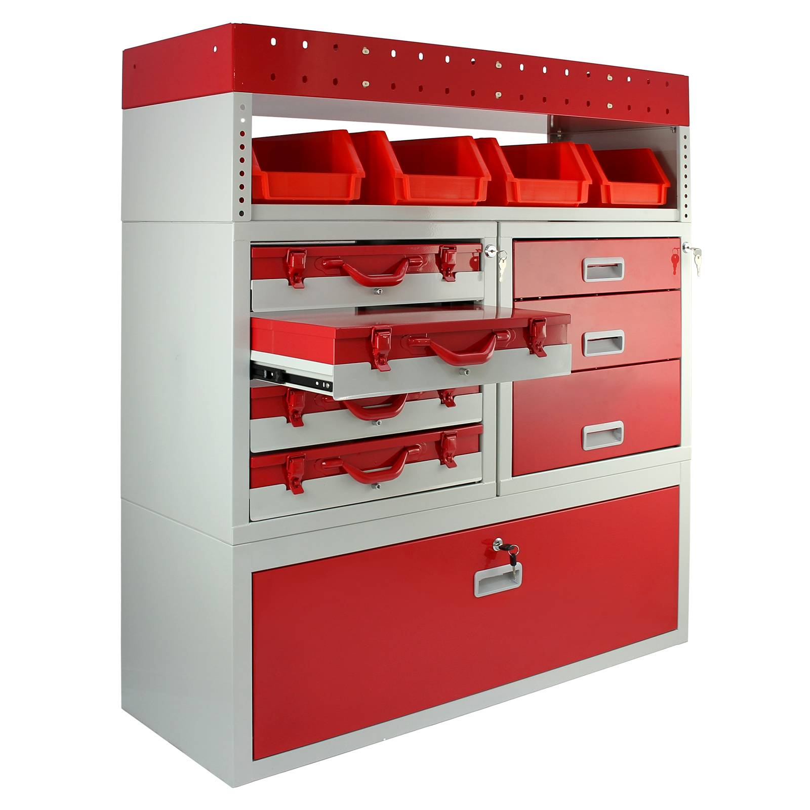 Van Racking Metal Shelving System Steel Rack Tool Storage