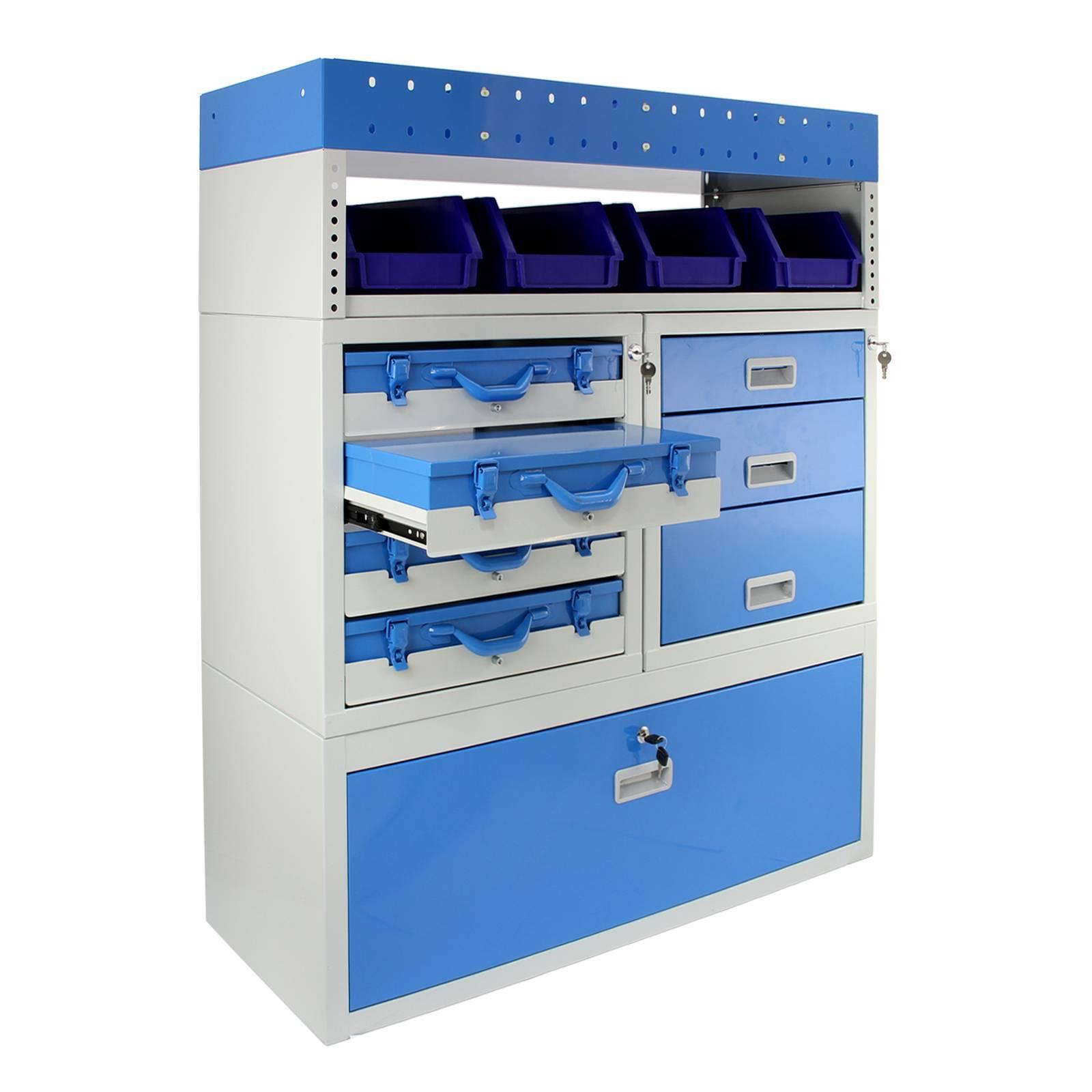Van Racking Metal Shelving Steel Rack Tool Storage System