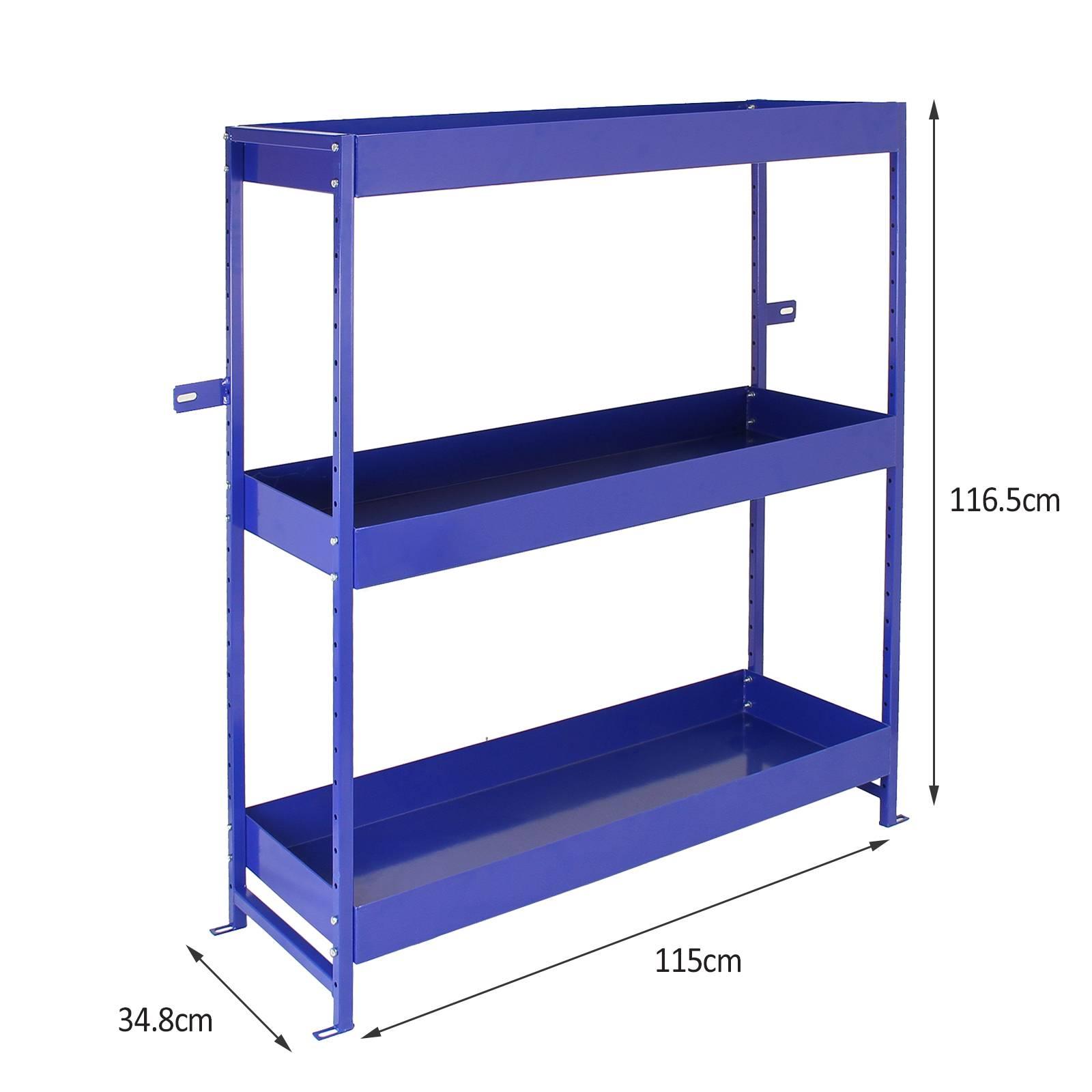 Van Racking Metal Shelving System Tool Storage Shelves