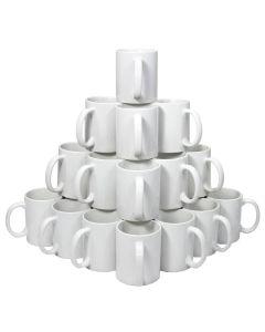 72 White 11oz Mugs & Gift Boxes