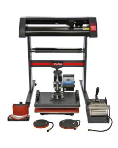 PixMax 5 in 1 Heat Press & Vinyl Cutter