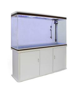 Aquarium Fish Tank & Cabinet - White