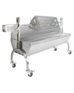 KuKoo 90kg Hog Roast & Flat Rotisserie Grill Attachment