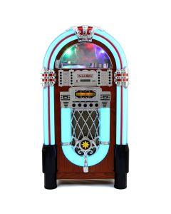 Retro Style Illuminated Jukebox Sound System