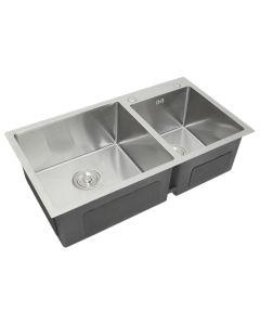 KuKoo Double Stainless Steel Sink