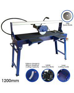 T-Mech Wet Tile Cutter Bench - 1200mm / 1400W