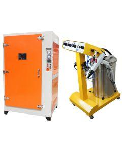Powder Coating Bundle, Machine & Curing Oven