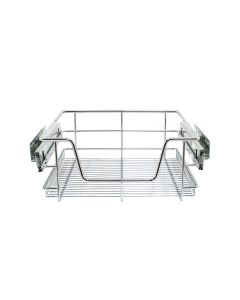 KuKoo Kitchen Pull Out Storage Baskets – 400mm Wide Cabinet