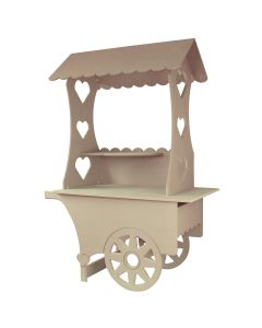 KuKoo Mini Candy Cart Wedding Sweet Stall