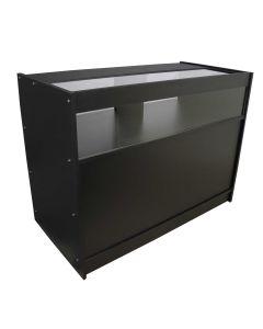 B1200 Retail Shop Counter - Black