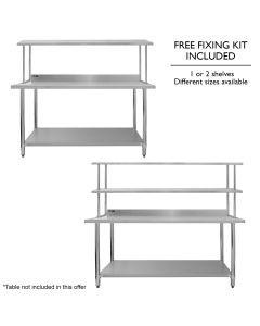 Stainless Steel Over-Shelves