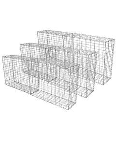 Gabion Baskets 100 x 80 x 30cm / 6 Pack