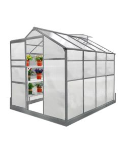Greenhouse 6ft x 8ft With Base