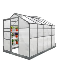 Greenhouse 6ft x 10ft With Base