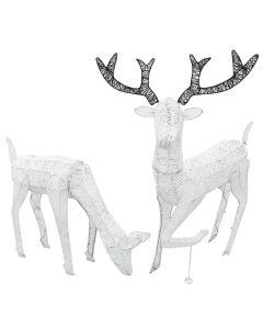 Light Up Reindeer Christmas Decorations