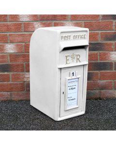 White Royal Mail Post Box