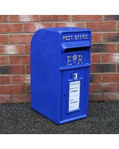 Blue Scottish Post Box