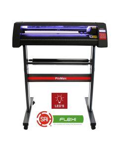 Vinyl Cutter 720mm, FlexiStarter Software & LED Light Guide
