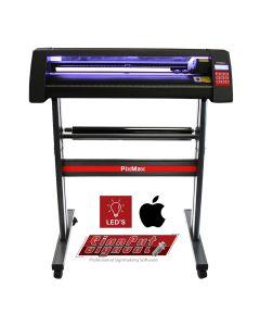 Vinyl Cutter 720mm Mac Compatible, LED Light Guide & Signcut Pro Software