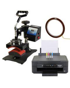 Cap Press & Epson Printer
