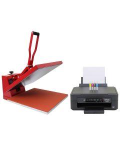 50cm Clam Heat Press & Epson Printer