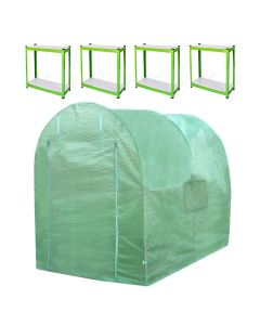 Polytunnel 19mm 2.5m x 2m with Racking