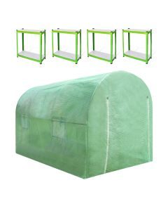 Polytunnel 19mm 4m x 2m with Racking