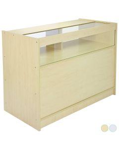 B1200 1/4 Glass Shop Display Showcase Counter