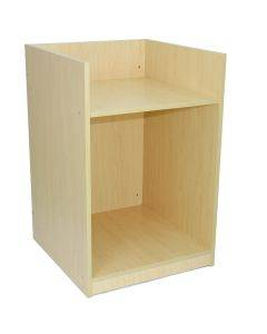 Retail Till Block Counter Maple Shop Cash Desk Storage Cabinet Service Counter