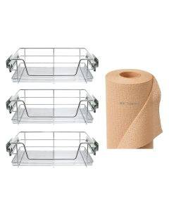 600mm Kitchen Basket and Non-Slip Mat