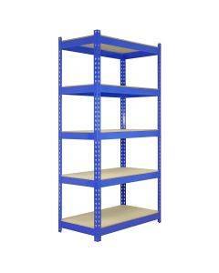 5 x Q-Rax 90 x 50 x 180cm Blue