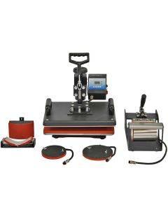 PixMax 5 in 1 Combo Swing Heat Press Machine