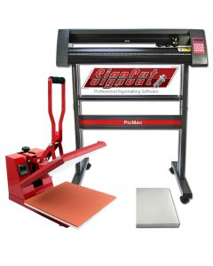 PixMax 38cm Clam Heat Press, Vinyl Cutter