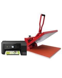 PixMax Heat Press Machine & Printer Bundle