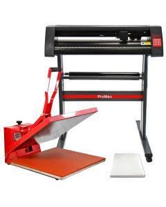 PixMax 50cm Clam Heat Press, Vinyl Cutter