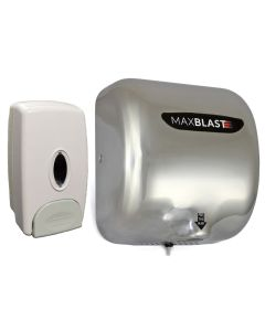 MAXBLAST Automatic Commercial Hand Dryer & Soap Dispenser
