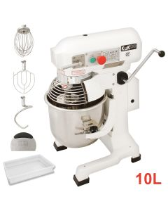 Commercial 10L Planetary Food Mixer & Dough Tray