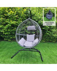 Grey Egg Chair