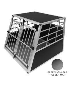 Car Pet Crate - Large Double Doors
