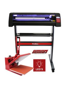 Vinyl Cutter LED, 38cm Clam Press & SignCut Software